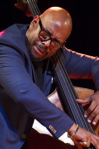 Christian McBride performing at Humber College, Etobicoke, ON. Image by: Norm Johnstone © 2017